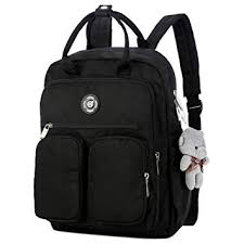 Lakote <b>Women Backpack</b> Multi-Pocket Large Capacity Waterproof ...