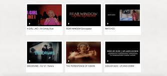 my year s work in audiovisual essays and videographic film studies below is a list of the thirteen videos i have made and formally published in the last twelve months there are a few unlisted ones that i made and haven t
