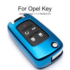 <b>KUKAKEY</b> 6 Colors <b>TPU Car Key</b> Cover Case For Opel Corsa Astra ...