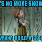 Frozen Anna Snowman Meme Generator - Imgflip via Relatably.com