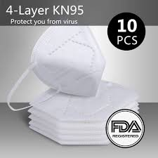 US$ 49.98 - <b>10 PCS KN95 N95 Mask FDA</b> Certification, 4-Layer ...