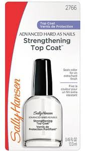 <b>Sally Hansen Strengthening</b> Top Coat, 0.45 fl oz - Walmart.com ...
