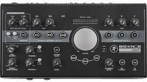 Купить USB <b>аудио интерфейс MACKIE Big Knob</b> Studio+ с ...