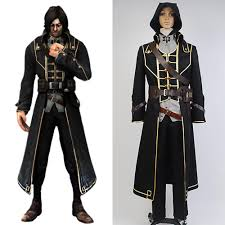 Best Seller Dishonored Corvo Attano Suit Game Men <b>Halloween</b> ...