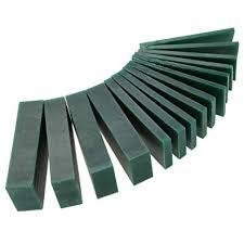 15 PCS 4/6/<b>8</b>/21/23mm Thickness Green Carving <b>Wax Piece</b> ...
