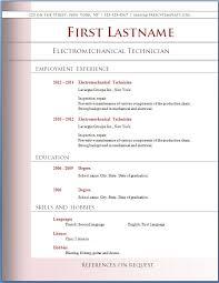 resume example simple resume format resume builder resume 12 best free resume free basic resume builder