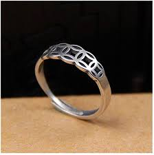 SUIWO <b>S925 Sterling Silver</b> Adjustable Silver Rings Ancient Coins ...