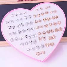 <b>36Pcs</b>/<b>Set Cute</b> Children's Day Jewelry Plastic Kids Rings Girls With ...