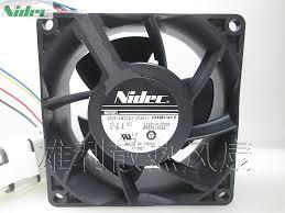 <b>New Original For Nidec</b> 8cm V80E14MS2A3 57A611 8038 13.6V ...