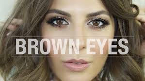 makeup tutorial for brown eyes