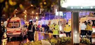 Resultado de imagem para Ataque terrorista em boate na Turquia deixa 39 mortos