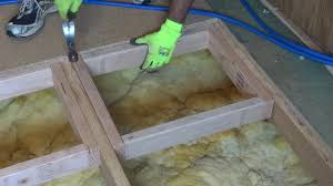 How To Replace A Kitchen Floor How To Repair Or Replace A Damaged Section Of Sub Floor Youtube