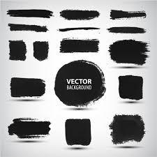 Стоковые векторные изображения <b>Кисть с краской</b> | Depositphotos