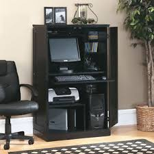 image is loading sauder computer desk storage furniture armoire home office armoire office desk