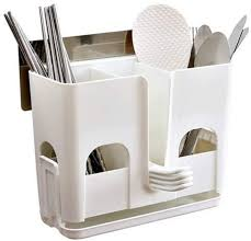 Chopsticks cage, household plastic wall-mounted ... - Amazon.com