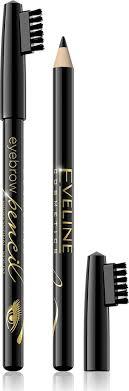 Eveline <b>Контурный карандаш для бровей</b> - черный Eyebrow pencil