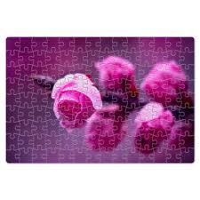 Пазл магнитный 18×27 см (126 элементов) <b>Розовые розы</b> ...