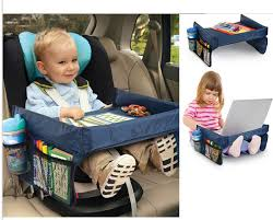 New Stroller Board Table Kids Car Organizer <b>Child Car Seat Tray</b> ...