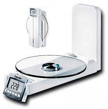 Купить <b>весы кухонные</b> настенные с часами <b>beurer</b> ks52 с ...