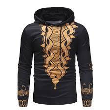 Mens <b>Hipster African</b> Dashiki Hooded Sweatshirt 2018 Brand New ...