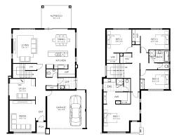 Double Storey Bedroom House Designs Perth   apg Homesview floorplans