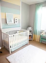 themed kids room designs cool yellow: cool calm gender neutral nursery we love the striped wall accent above the