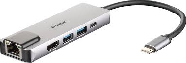 DUB-M520 <b>5-in-1 USB</b>-C Hub with HDMI/Ethernet and Power ...