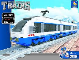 <b>Model building kit compatible</b> with lego city transportation train rails ...
