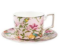 ufengke European Bone China Coffee Cup with ... - Amazon.com