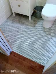 bathroom floor lezucolor modernconcreteshowerslottroughdrain modeconcretejpg bathroom  bathroom makeover hexagon floor tiles with painted grout lin
