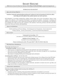 samples smartresume entry level accountant entry level accountant resume sample