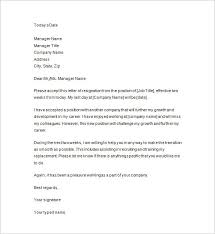 two weeks notice letter sample example format   two weeks notice formal letter