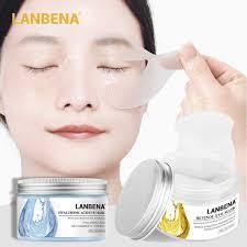 LANBENA Hyaluronic Acid Eye Serum <b>Retinol Eye Mask</b> Reduces ...