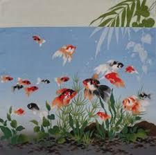 Gourd Tapestry <b>Japanese</b> Furoshiki <b>wall</b> hanging Navy Medium ...