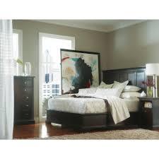 piece queen transitional bedroom