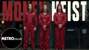 Money Heist | La Casa De Papel English Trailer Netflix | Metro.co.uk ...