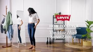 <b>Levi's</b>® - How to style the <b>Mile High Super</b> Skinny - YouTube