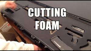<b>Cutting foam</b> out of a storage case - What we learned from YouTube ...