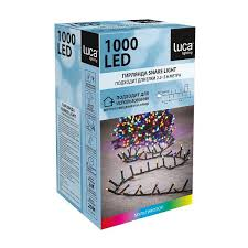 Светодиодная гирлянда (<b>мультиколор</b>) Luca lights 83779 для ...