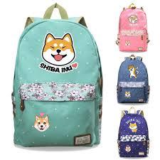 <b>Shiba Inu</b> Backpack Cute <b>Shiba Inu Pattern</b> Print Beautiful Backpack ...