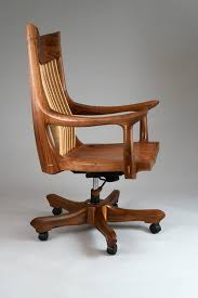 image of antique wood swivel desk chair antique deco wooden chair swivel