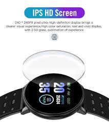 <b>119 Plus</b> Smart Watch Bluetooth Waterproof Fitness Tracker Heart ...