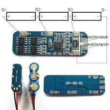 Pdtoweb <b>3S 12V 18650 10A</b> BMS Charger Li-ion Lithium Battery ...