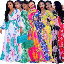 <b>2018 autumn</b> summer winter ladies <b>african dresses</b> colorful african ...