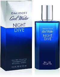 <b>Davidoff Cool Water Night</b> Dive EdT 75ml in duty-free at airport Baku