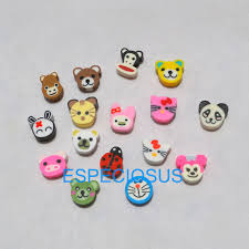 <b>50pcs DIY Jewelry Accessories</b> polymer clay beads Cartoon ...