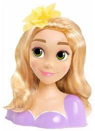 Кукла-торс Just Play Disney Princess Рапунцель <b>голова для</b> ...