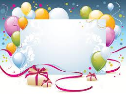 happy birthday present powerpoint templates border frames happy birthday present backgrounds