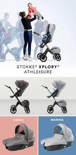 Stokke Xplory Athleisure incorporates an <b>upgraded</b> newborn insert ...