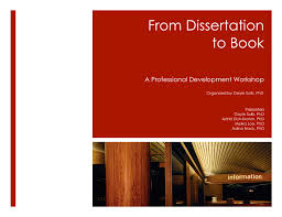 dissertation blues From Dissertation to Book Workshop Gayle Sulik PhD Gayle Sulik PhD The American Sociological